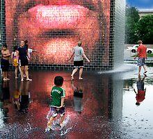 Splash and Dash by Sue  Cullumber