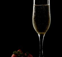 Champagne and Strawberries by JuzzyDee