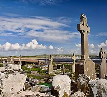 old grave site at liscannor by upthebanner