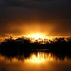 Sunrise Radiance - Lake Curlew, NSW by Gregory McInnes