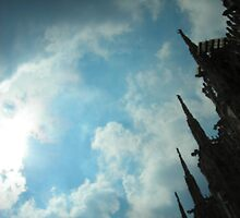 The Duomo in Milan by abigirl