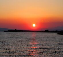 Greek Sunset by Philip Alexander