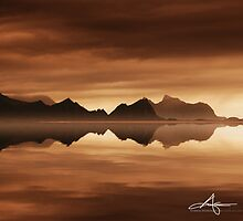 Arriving at Lofoten Islands by Andreas Stridsberg