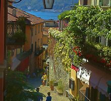 Bellagio, Italy, by lake como by upthebanner