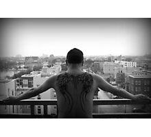 Urban Angel Photographic Print