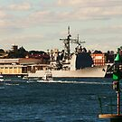 AMERICAN NAVY SHIP - FREMANTLE by Marinapallett