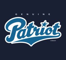GenuineTee - Patriot (blue/white) by GerbArt