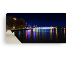 Old Swan Brewery Perth At Night  Canvas Print
