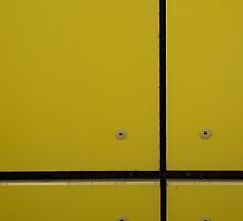Rule Of Thirds: Yellow I by Milton Gan