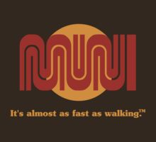 It's almost as fast as walking.? T-Shirt