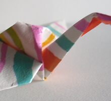 Paper Crane by Teresa Richards