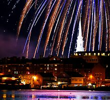 Portsmouth Nh, Fourth Of July Celebration by RonSparks