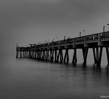 Cloudy Pier  by Kasper