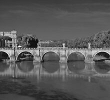 Angels Crossing the Tiber by John Nelson