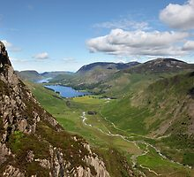 Buttermere with Crummock Water by SteveMG