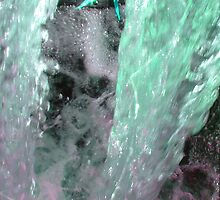 Always Rushing -  in Seafoam by Deb  Badt-Covell