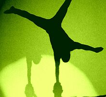 Hand Balancing Shadow by Steve Gale