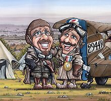 Don & Paul - WWI Fighter Aces! by Rob Henderson
