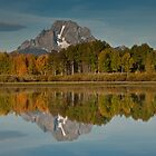 Mount Moran and Fall Colors by Jeff Goulden