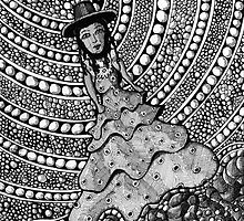 215 - SPANISH LADY (INK) 2008 by BLYTHART