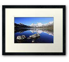 Cradle Snow II Framed Print