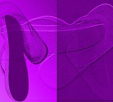 Purple Flip Flops by Ruth Palmer
