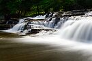 Stair Falls - Side View by Stephen Beattie