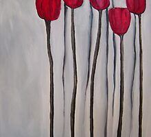 Tall Poppies by Eva Fritz