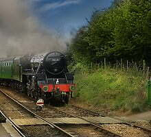 45321 at Ropley by eddiej