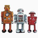 Three Robots. by robotrobotROBOT
