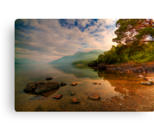 Lomond Light Canvas Print