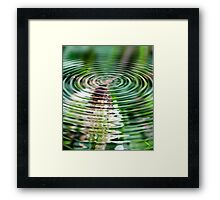 *BEE ABSTRACT* Framed Print