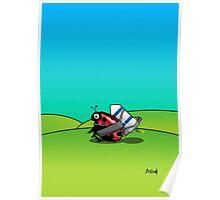 Rocket LadyBug (Collectors etd.) Poster