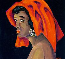 Carribean Woman by BobHenry