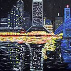 Night Time in the River City #2 by Arobi01