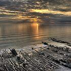Widemouth sunset by M G  Pettett