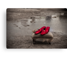 Ruby Red slippers Canvas Print