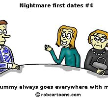 Night mare first dates #4 by robmiddleton