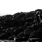 Silhouette Surfer by Paudie Scanlon