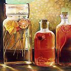 Jars Color Pencil @ www.KeithMcDowellArtist.com   by © Keith McDowell, Artist