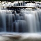 Stair Falls - Detail by Stephen Beattie