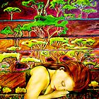 Jade&#x27;s Dream - Oil Painting by Belinda &quot;BillyLee&quot; NYE (Printmaker)