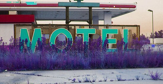 motel vacancy by BlackHairMoe