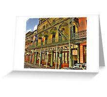Antoines Restaurant - New Orleans Greeting Card