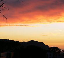 Sunset Gordons Bay by ThatManVan