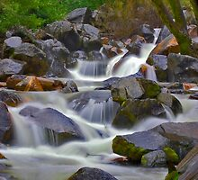 Bridal Veil Creek by photosbyflood
