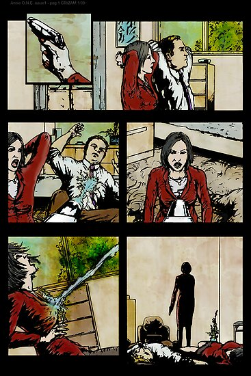ANNIE ONE PAGE 1 by morphfix