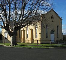 St Baptist Church Perth, Tasmania. by PaulWJewell
