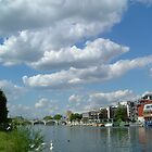 Clouds over Kingston upon Thanes by mickeydoodah
