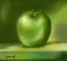 Green Apple by semas